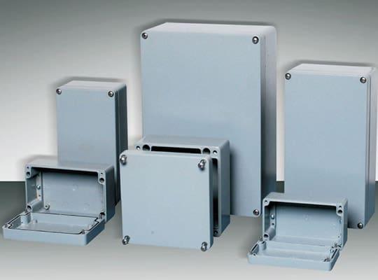กล่องอลูมิเนียมเก็บสายไฟ (Aluminum Enclosure)