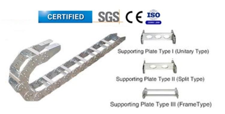รางกระดูกงูเหล็ก รุ่น TL45 (Cable Chain Steel TL45)