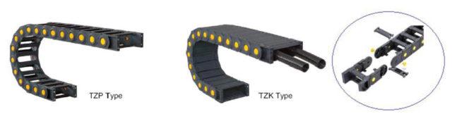 รางกระดูกงูพลาสติก TZ25