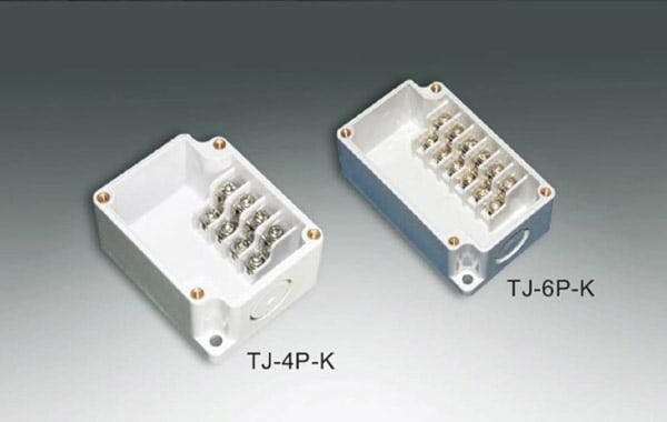 กล่องเทอร์มินอล TJ-4P-K , TJ-6P-K (Terminal Box TJ-4P-K , TJ-6P-K)