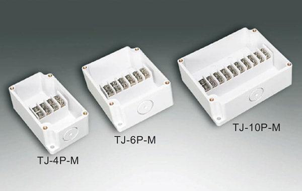 กล่องเทอร์มินอล TJ-4P-M , TJ-6P-M , TJ-10P-M (Terminal Box TJ-4P-M , TJ-6P-M , TJ-10P-M)