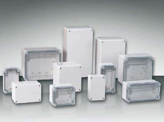 กล่องพลาสติกพักสายไฟกันน้ำ (Plastic Encloser)