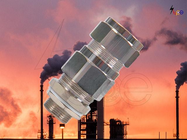 เคเบิ้ลแกลนกันระเบิด (Explosion proof cable gland)