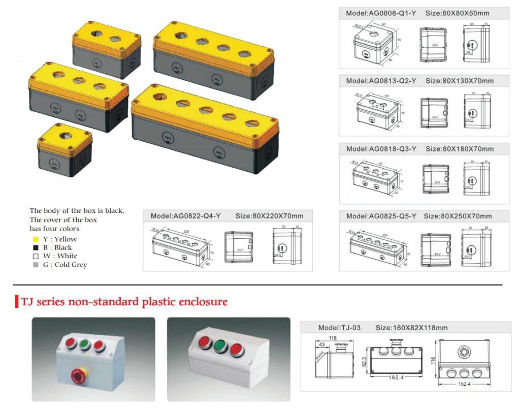 Switch box - Push button box