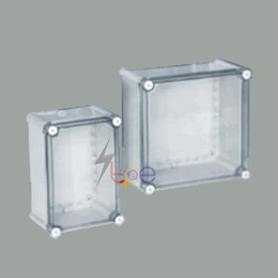 กล่องพักสายไฟพลาสติก ชนิดสกรู (Plastic Enclosure Box - Screw Type)