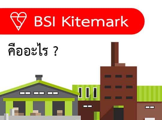 BSI Kitemark คืออะไร ?